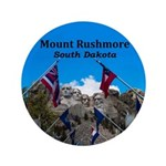 """Mount Rushmore 3.5"""" Button (100 pack)"""