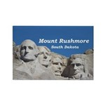 Mount Rushmore Rectangle Magnet (100 pack)