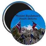 "Mount Rushmore 2.25"" Magnet (10 pack)"