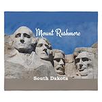 Mount Rushmore King Duvet