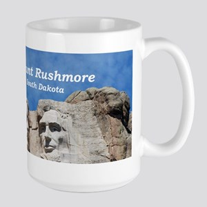 Mount Rushmore Large Mug
