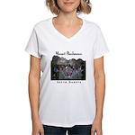 Mount Rushmore Women's V-Neck T-Shirt