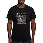 Mount Rushmore Men's Fitted T-Shirt (dark)
