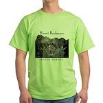 Mount Rushmore Green T-Shirt