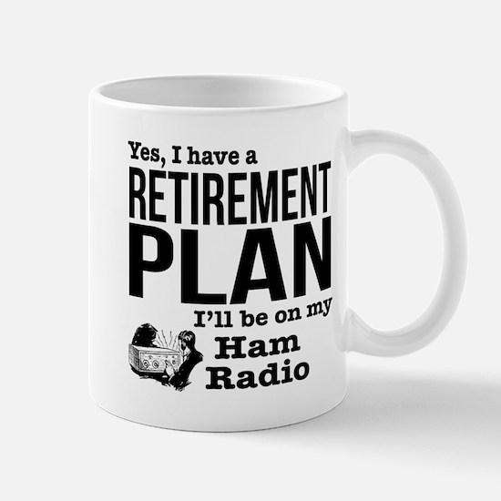 Ham Radio Retirement Plan Mugs