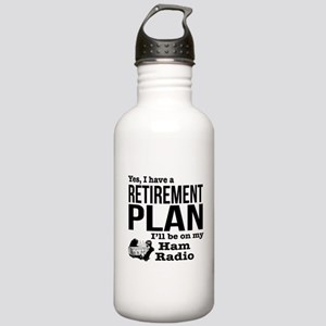 Ham Radio Retirement P Stainless Water Bottle 1.0L