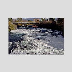 Spokane River Upper Falls Magnets