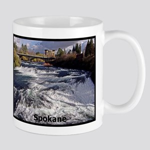 Spokane River Upper Falls Mugs