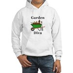 Garden Diva Hooded Sweatshirt