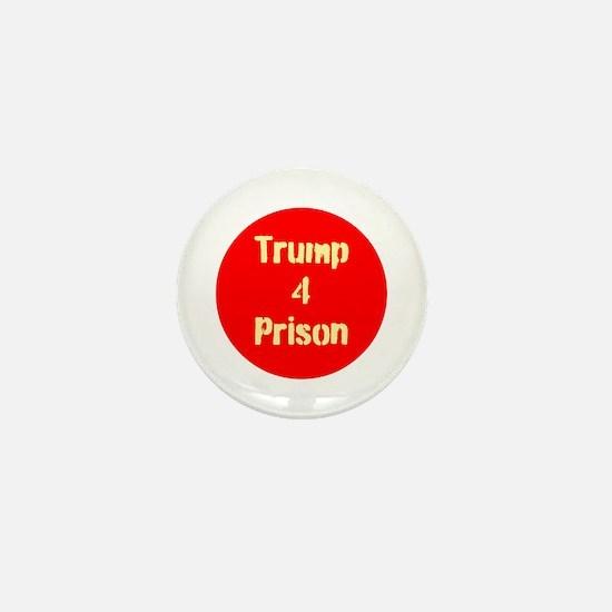trump 4 Prison Mini Button