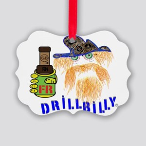 DRILLBILLY OILFIELD INSPECTOR Picture Ornament