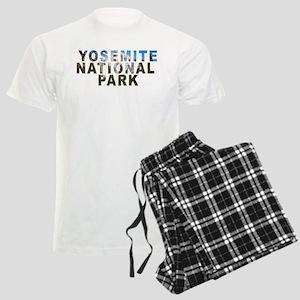 Yosemite National Park Men's Light Pajamas
