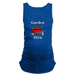 Garden Diva Maternity Tank Top
