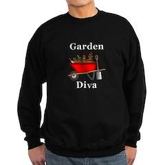 Garden Diva Sweatshirt (dark)