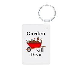 Garden Diva Keychains