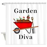 Garden Diva Shower Curtain