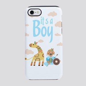 funny kids iPhone 8/7 Tough Case