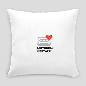 Heartbreak Mixtape Everyday Pillow