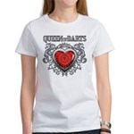 Queen Of Darts Women's T-Shirt