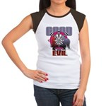 Good AND Evil Junior's Cap Sleeve T-Shirt