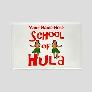 School of Hula Magnets