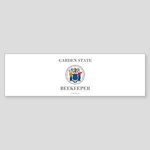 New Jersey Beekeeper (bumper) Bumper Sticker
