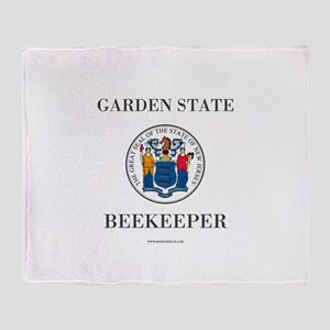 New Jersey Beekeeper Throw Blanket