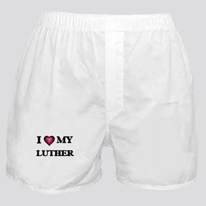 I love Luther Boxer Shorts