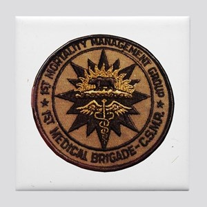 Mortality Management CSMR Tile Coaster