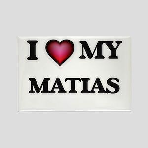 I love Matias Magnets
