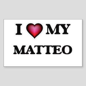 I love Matteo Sticker