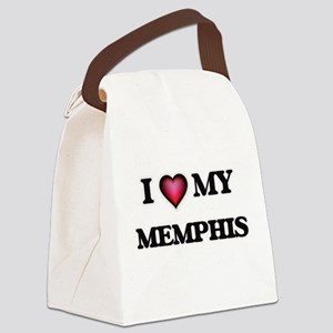 I love Memphis Canvas Lunch Bag