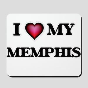 I love Memphis Mousepad