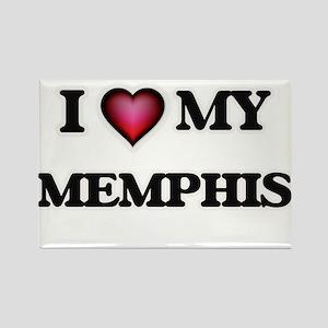 I love Memphis Magnets