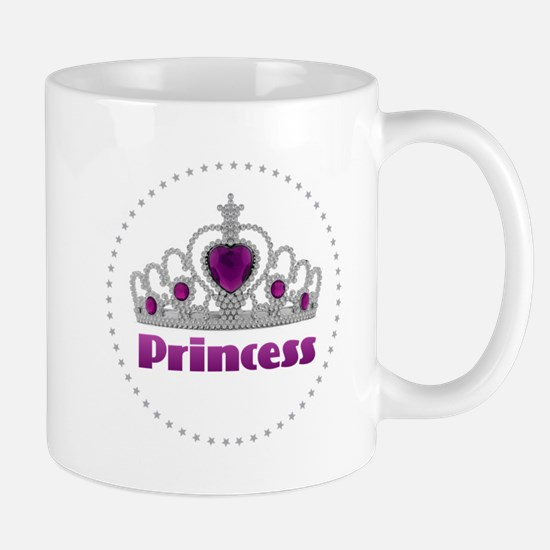 Princess - Crown and Stars Mugs