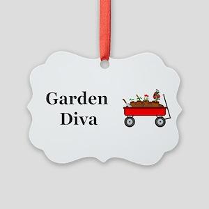 Garden Diva Picture Ornament