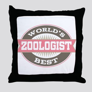 zoologist Throw Pillow