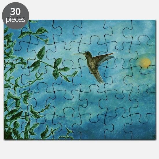 Unique Feed birds Puzzle