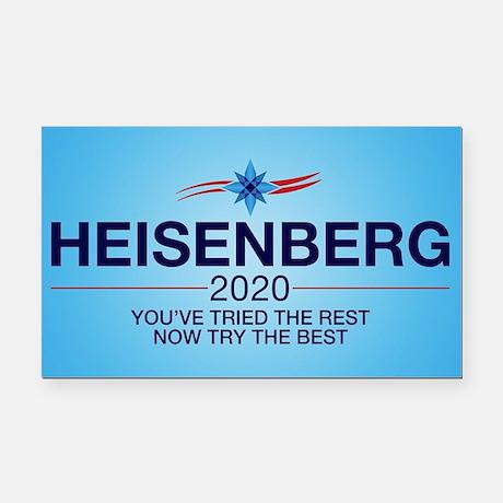 Heisenberg 2020 Rectangle Car Magnet