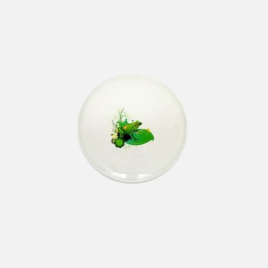 Unique Lily Mini Button