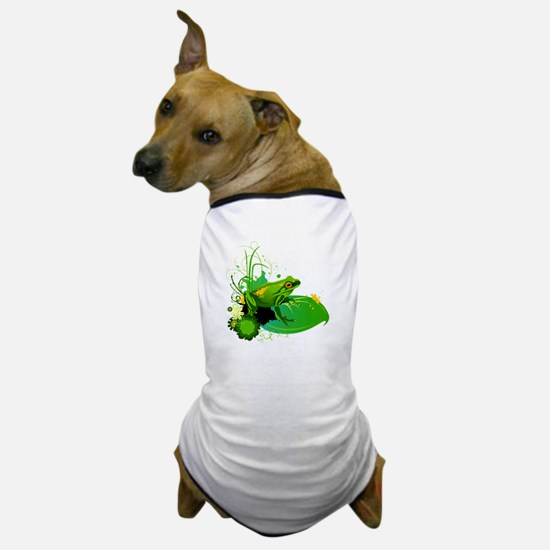 Cute Amphibians and reptiles Dog T-Shirt