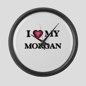 I love Morgan Large Wall Clock