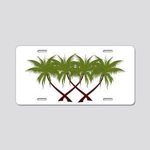PALMS Aluminum License Plate