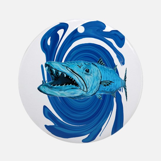 BARRACUDA Round Ornament