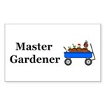 Master Gardener Sticker (Rectangle 10 pk)
