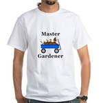 Master Gardener White T-Shirt