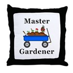 Master Gardener Throw Pillow
