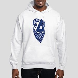 Delta Upsilon Hooded Sweatshirt