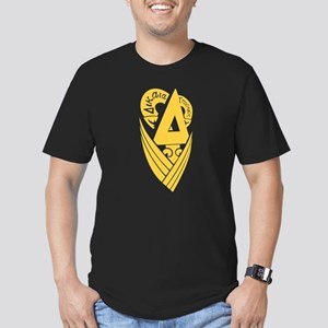 Delta Upsilon Men's Fitted T-Shirt (dark)