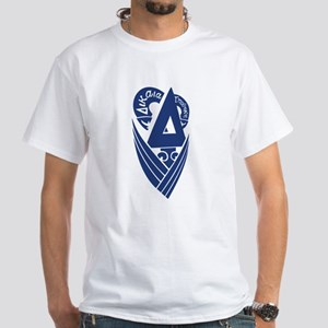 Delta Upsilon White T-Shirt